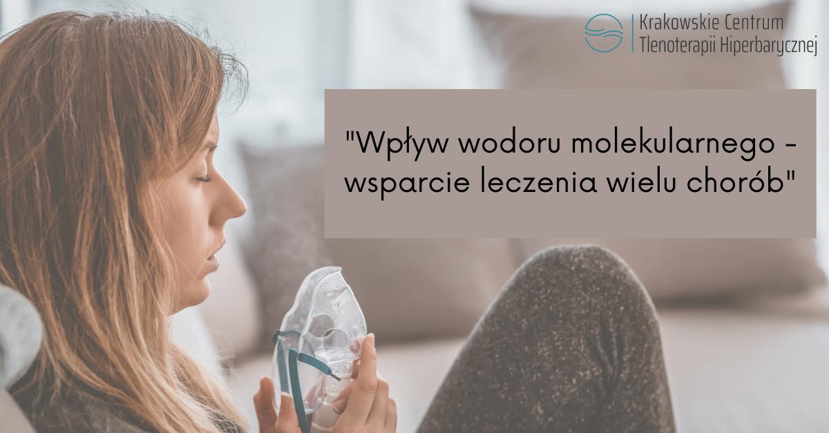 """""""Wodoroterapia leczy wiele chorób"""""""